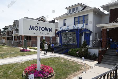 Editorial picture of Virus Outbreak Motown Museum, Detroit, United States - 15 Jul 2020