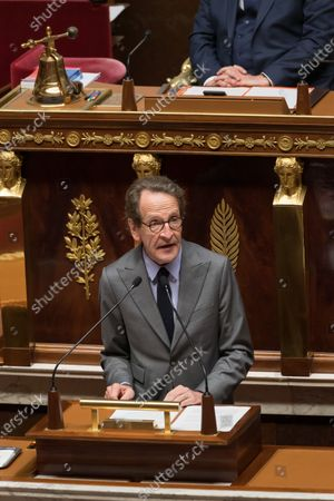 Editorial image of Castex gives a speech to present his programme at the National Assembly, Paris, France - 15 Jul 2020