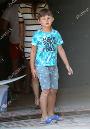Noah Phoenix Mazur seen house hunting with his mother Alessandra Ambrosio