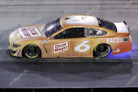 Ryan Newman (6) runs during a NASCAR All-Star auto race at Bristol Motor Speedway in Bristol, Tenn