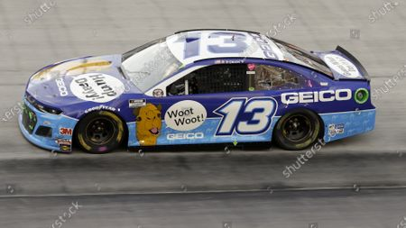 Ty Dillon (13) drives during a NASCAR All-Star Open auto race at Bristol Motor Speedway in Bristol, Tenn
