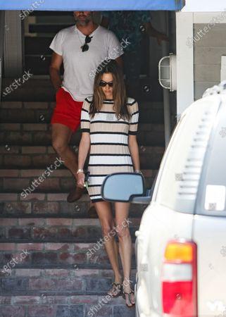 Alessandra Ambrosio and her ex-fiance Jamie Mazur