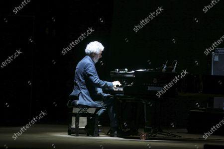 "Maestro Nicola Piovani in concert with ""Music is dangerous"" at the Cavea of the Auditorium Parco della Musica in Rome"