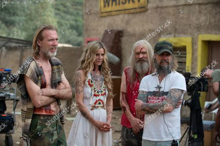 Stock Image of Richard Brake as Winslow Foxworth Coltrane, Sheri Moon Zombie as Baby, Bill Moseley as Otis Driftwood and Rob Zombie Director