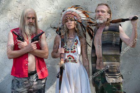 Bill Moseley as Otis Driftwood, Sheri Moon Zombie as Baby and Richard Brake as Winslow Foxworth Coltrane
