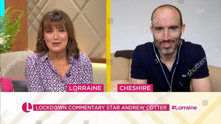 Lorraine Kelly, Andrew Cotter