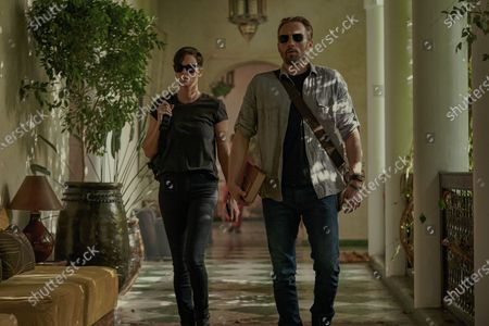 Charlize Theron as Andy and Matthias Schoenaerts as Booker
