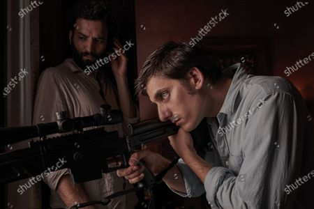 Marwan Kenzari as Joe and Luca Marinelli as Nicky