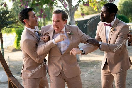 Stock Photo of Tyler Hoechlin as Abe, Conner O'Malley as Randy and Tongayi Chirisa as Jerry