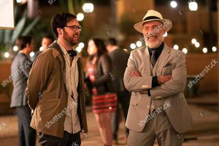 Max Barbakow Director and JK Simmons as Roy