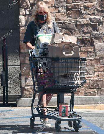 Malin Akerman shopping