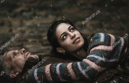 Sami Bouajila as Said and Sofia Lesaffre as Sarah