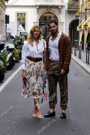 Editorial photo of Etro show, Arrivals, Milan Digital Fashion Week, Italy - 16 Jul 2020