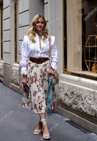 Stock Picture of Valentina Ferragni