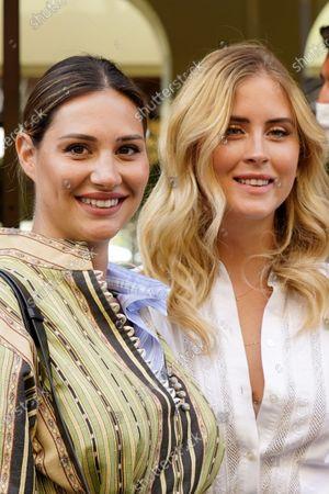 Beatrice Valli and Valentina Ferragni