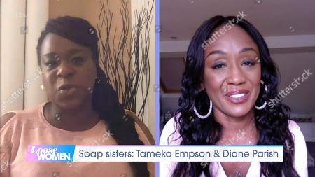 Tameka Empson, Diane Parish