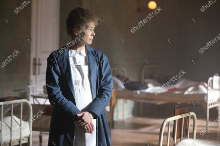 Stock Photo of Rosamund Pike as Marie Curie