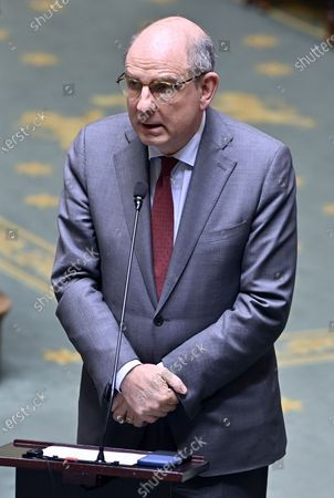 Editorial picture of Politics Federal Parliament Plenary Session, Brussels, Belgium - 16 Jul 2020