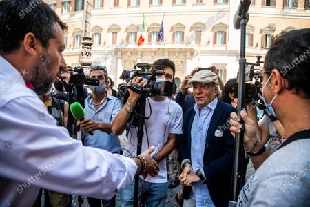 Editorial picture of Sit in to request the release of Chico Forti from the American authorities, Rome, Italy - 16 Jul 2020