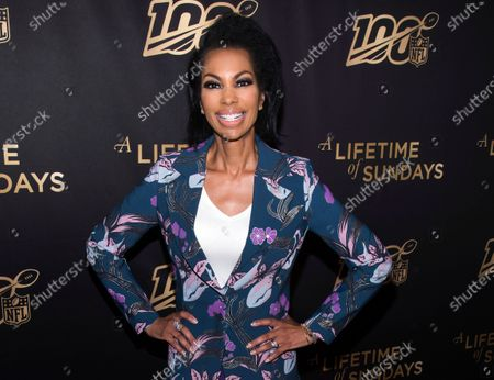"Harris Faulkner attends a screening of ""A Lifetime of Sundays"" at The Paley Center for Media in New York on . Faulkner will host a special on America's racial reckoning on Sunday at 10 p.m. Eastern"