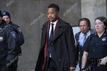 Cuba Gooding Jr. leaves court, in New York. When Gooding returns to court next month for a hearing in his New York City sexual misconduct case, he'll find the room outfitted with Plexiglas and other measures to prevent the spread of the coronavirus that has indefinitely delayed his trial, a judge said