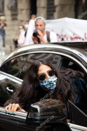 Milan fashion week 2020, at the Etro fashion show, host the fantastic Gilda Ambrosio