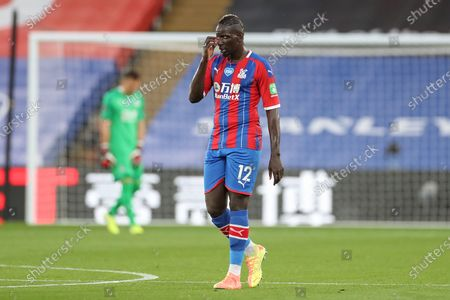 Crystal Palace #12 Mamadou Sakho during the Premier League match between Crystal Palace and Manchester United at Selhurst Park, London