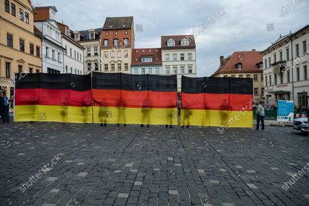 Editorial photo of AfD rally in Altenburg, Germany - 16 Jul 2020