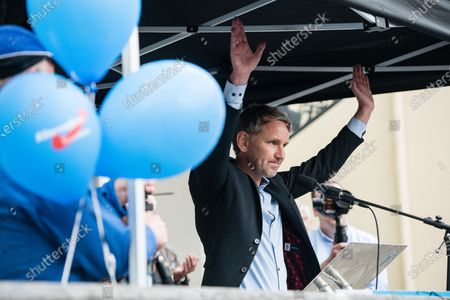 Editorial image of AfD rally in Altenburg, Germany - 16 Jul 2020