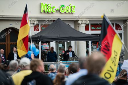 Editorial picture of AfD rally in Altenburg, Germany - 16 Jul 2020