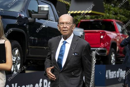 Wilbur Ross, US commerce secretary, departs following an event on the South Lawn of the White House in Washington, DC, USA, 16 July 2020.