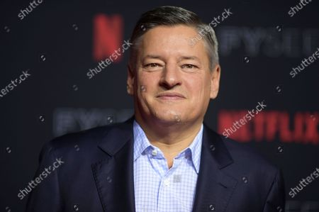 Ted Sarandos attends the 2018 Netflix FYSee Kick-Off Event at Raleigh Studios Hollywood in Los Angeles. Netflix added a flood of new subscribers amid the coronavirus pandemic and also offered clues to a possible successor for founding CEO Reed Hastings, who on Thursday, July 16, 2020, named the company's chief content officer, Sarandos, as co-CEO