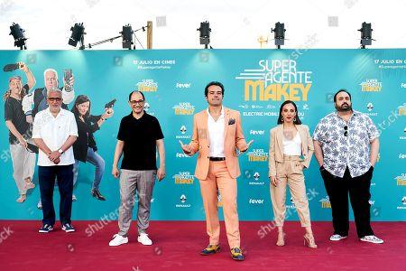 Editorial picture of 'Super Agente Makey' film premiere, Arrivals, Madrid, Spain - 16 Jul 2020