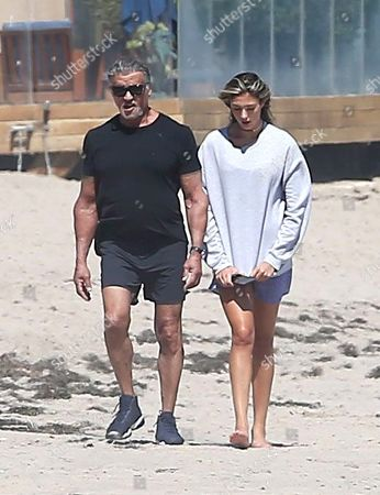 Editorial image of Sylvester Stallone out and about, Los Angeles, USA - 16 Jul 2020