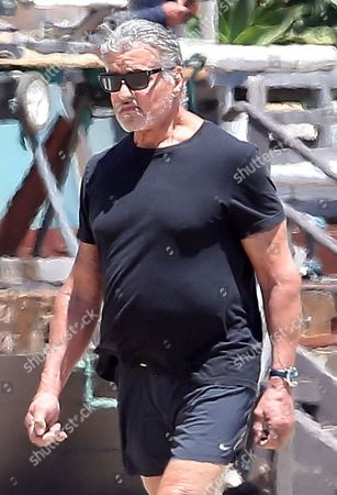 Editorial picture of Sylvester Stallone out and about, Los Angeles, USA - 16 Jul 2020