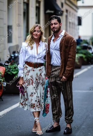 Valentina Ferragni and Luca Vezil