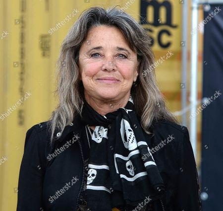 Suzi Quatro at 'Suzi Q' documentary film at a drive-in cinema, Zeise Kino