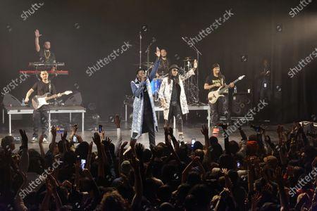 Editorial image of Daara J Family in concert, Paris, France - 07 Feb 2020