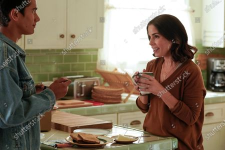 Michael Cimino as Victor Salazar and Ana Ortiz as Isabel Salazar