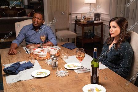 Mekhi Phifer as Harold Brooks and Sophia Bush as Veronica