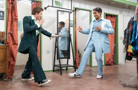 George Sear as Benji and Michael Cimino as Victor Salazar