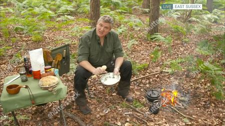 Stock Image of Ray Mears