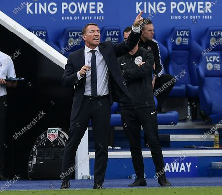 Brendan Rogers manager of Leicester City