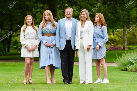 Editorial picture of Dutch Royals family summer photo session, Palace Huis Ten Bosch, The Hague, The Netherlands - 17 Jul 2020