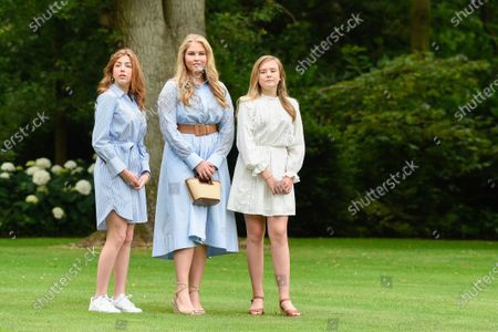 Editorial image of Dutch Royals family summer photo session, Palace Huis Ten Bosch, The Hague, The Netherlands - 17 Jul 2020