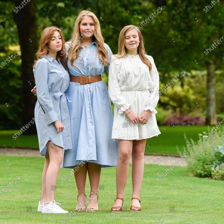 Editorial photo of Dutch Royals family summer photo session, Palace Huis Ten Bosch, The Hague, The Netherlands - 17 Jul 2020
