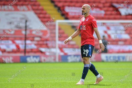 Yohan Benalouane (29) of Nottingham Forest