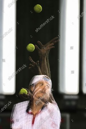 Editorial picture of Part two of the Bett1ACES tennis tournament in Berlin, Germany - 17 Jul 2020