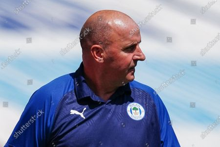 Paul Cook Wigan Athletic Manager