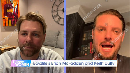 Brian McFadden and Keith Duffy